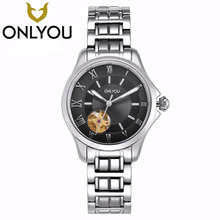 ONLYOU Top Brand Women Mechanical Watches Luxury Luminous Automatic Ladies Watch Business Waterproof Wristwatch Wholesale