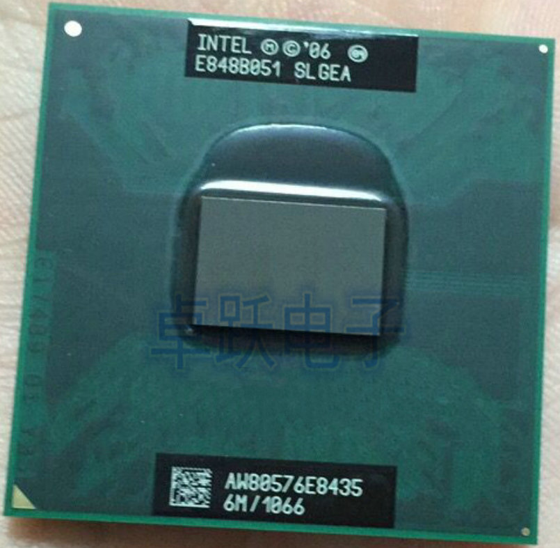 Intel Laptop CPU E8435 3.06G/6M/1006 SLGEA E0 Official Version Scrattered Pieces Free Shipping
