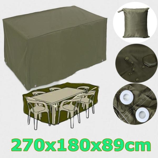 Marvelous 2016 Newest 6 Seater Waterproof Furniture Set Cover Shelter Patio Garden  Rectangular Rain 270x180x89cm