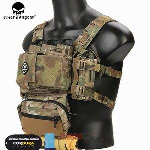 Image 2 - Emerson Telaio MK3 Mini Tactical Chest Rig Spiritus di Caccia di Airsoft Della Maglia Ranger Verde Militare Gilet Tattico w/ Magazine Pouch
