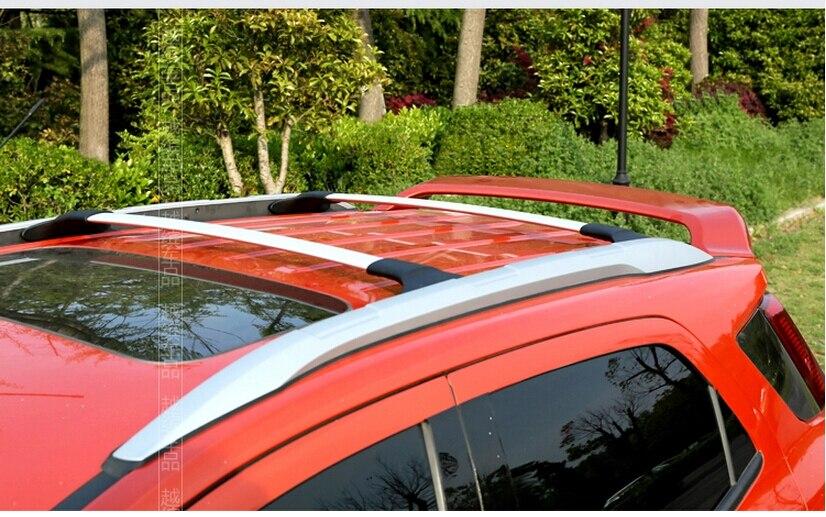 Met Goed Opvoeding Auto Styling Suv Auto 2 Stks/set Imperiaal Bagagedrager Dakdragers Cross Bar Accessoires Voor 2013-2014 Ford Ecosport Zilver Zwart Rijk En Prachtig