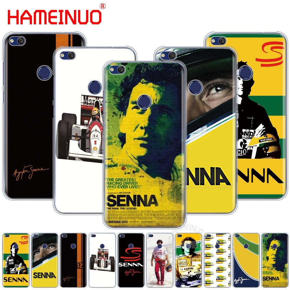 HAMEINUO ayrton senna racing Cover phone Case for huawei Ascend P7 P8 P9 P10 P20 lite plus pro G9 G8 G7 2017