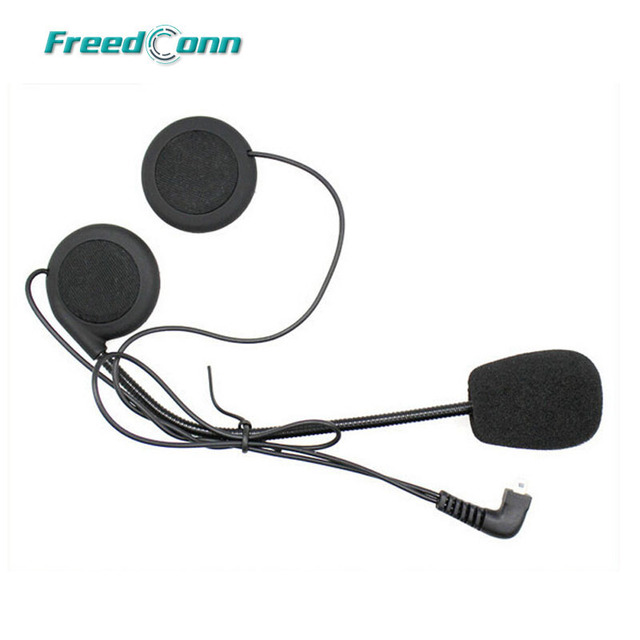 free shippingheadset microphone mic for original fdc brand helmet bluetooth intercomt - Free Colo