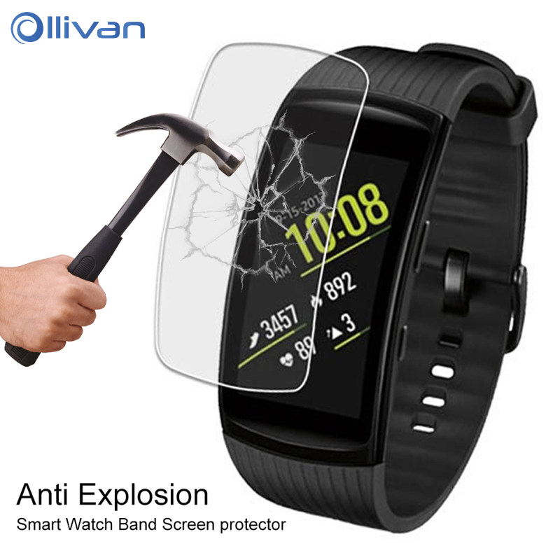 Anti-scratch Soft TPU Ultra HD Clear Protective Film For Samsung Gear Fit 2 Pro For Gear Fit2/Pro Full Screen Protector Cover usb charger dock charging cradle for samsung gear fit2 pro sm r360 smart watch cable cord charge base station for fit 2 sm r360