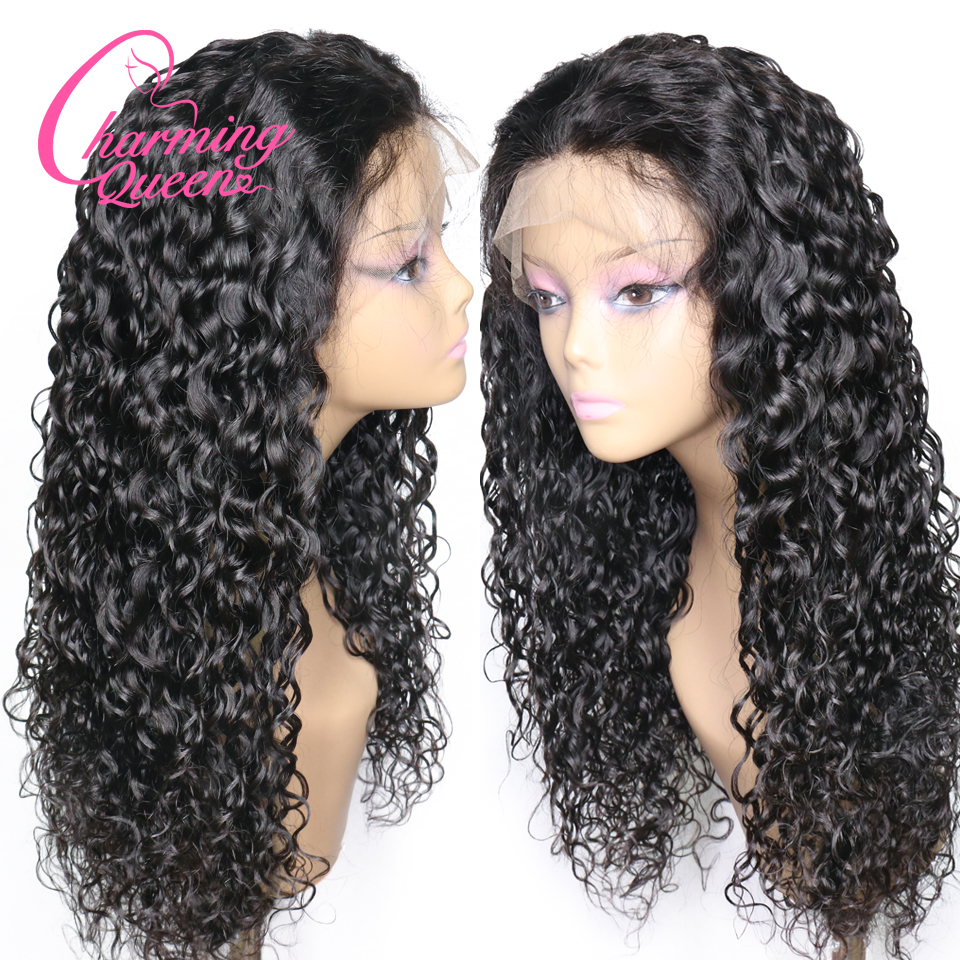Hair Extensions & Wigs Careful Abijale Water Wave Wig 150% Density Peruvian Remy Hair Bob Wig Lace Front Human Hair Wigs For Women Pre-plucked Latest Fashion