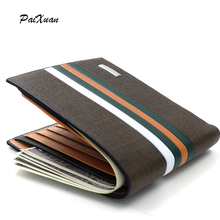 2016 new arrivel mens wallet designer men wallets famous brand purse with card pocket brown solid short male standard wallets PX