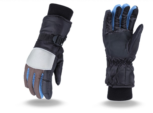 Skiing gloves touch screen men sport warm gloves mittens cashmere waterproof gloves Snow Thermal Skiing Gloves