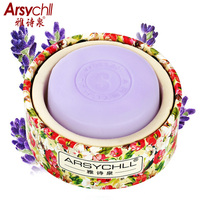 Natural Lavender Whitening Handmade Soap Face Care Deeply Clean Oil Control Remove Acne Clean Pores Blackhead