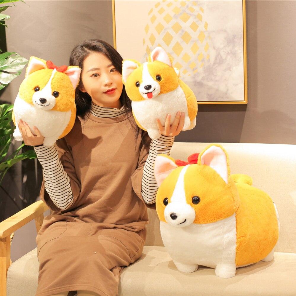 Winnie Animal Cartoon Dolls Cokey Kids Birthday Fat Plush Baby Stuffed Toys Daisy Present Dog Gift Kawaii Body Children 3