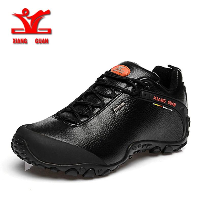 XIANG GUAN Outdoor Wasserdicht Wandern Schuhe Männer Frauen Echtes Leder Klettern Schuhe Männer Wanderschuhe trekking stiefel 81996