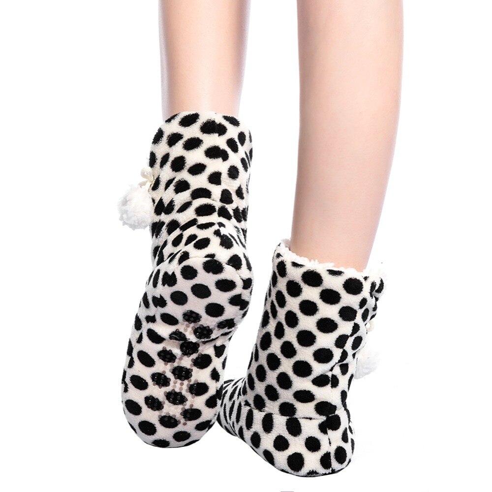Теплые сапоги fralosha толстая плюшевая обувь для дома нескользящая