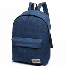 Canvas Backpack Shoulderbag Female High School Student Bag Korean Tide Small Fresh College Wind Male Fashion Travel bag