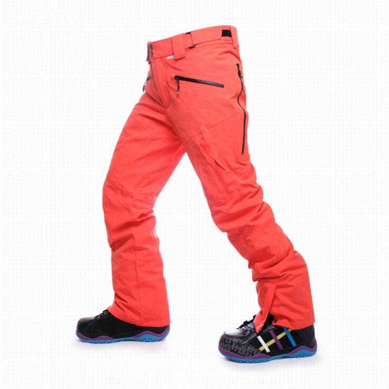 NANDN Inverno Homens Térmicas Ao Ar Livre Calças de Esqui Impermeável  Respirável calças Caminhadas Calças De Neve De Esqui Snowboard ee2a64c8c3db8