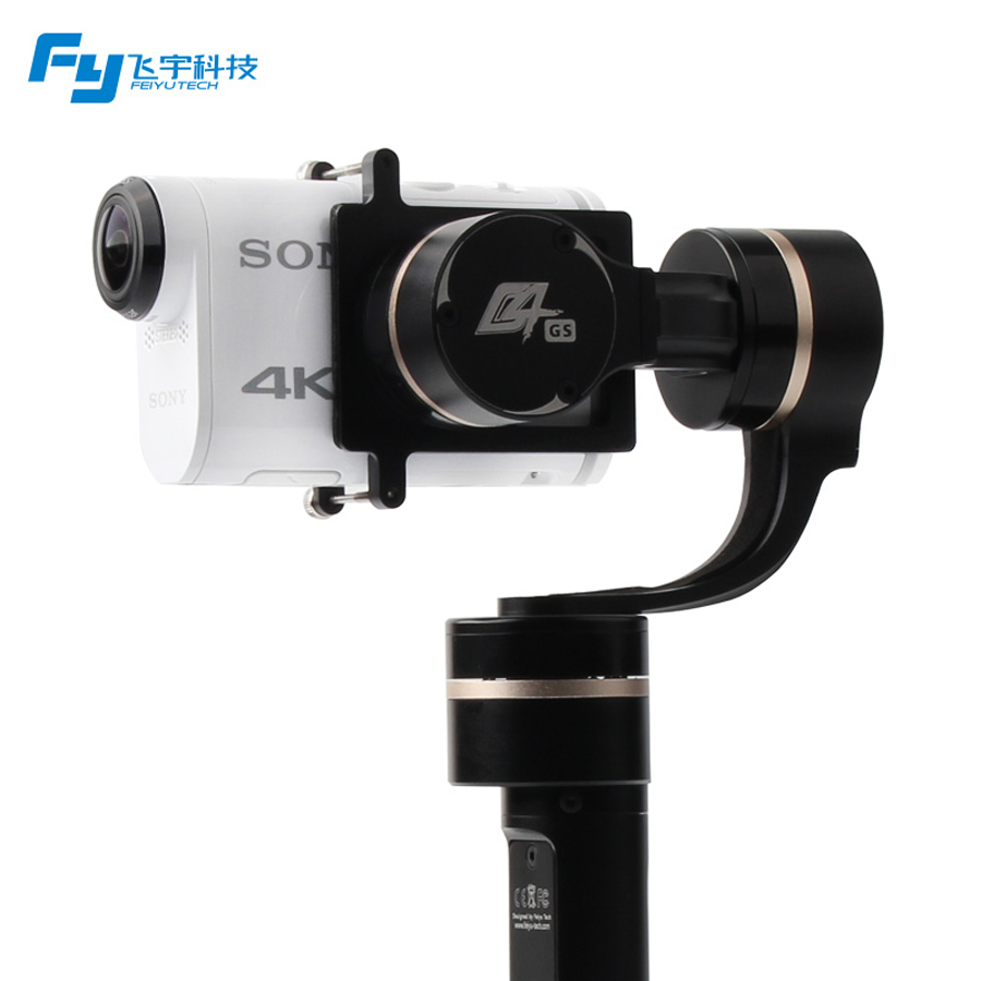 FeiyuTech FY G4 GS 3 Axis Handheld Gimbal for  Sony AS series brushless Action Stabilizer Gimbal for Sport Camera AS200 [hk stock][official international version] xiaoyi yi 3 axis handheld gimbal stabilizer yi 4k action camera kit ambarella a9se75 sony imx377 12mp 155 degree 1400mah eis ldc sport camera black