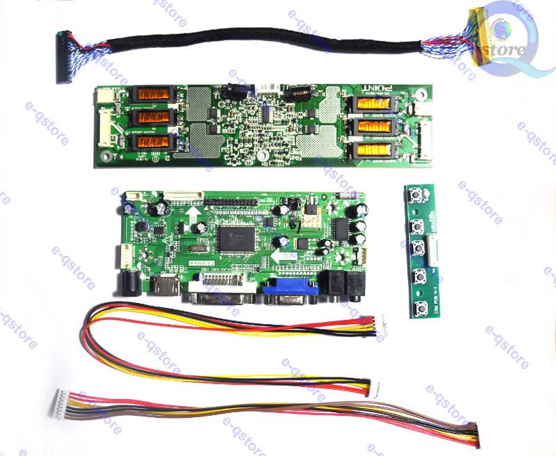 (hdmi + Dvi + Vga + Audio) Lcd Controller Board Kit Für Panel 1680x1050 Lm201w01 (sl) (a3)