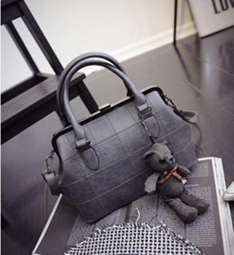 ФОТО 2016 Hot Sale Women Handbag PU Leather Tote Bag Female  Handbag With A  High Quality  Handbag F484