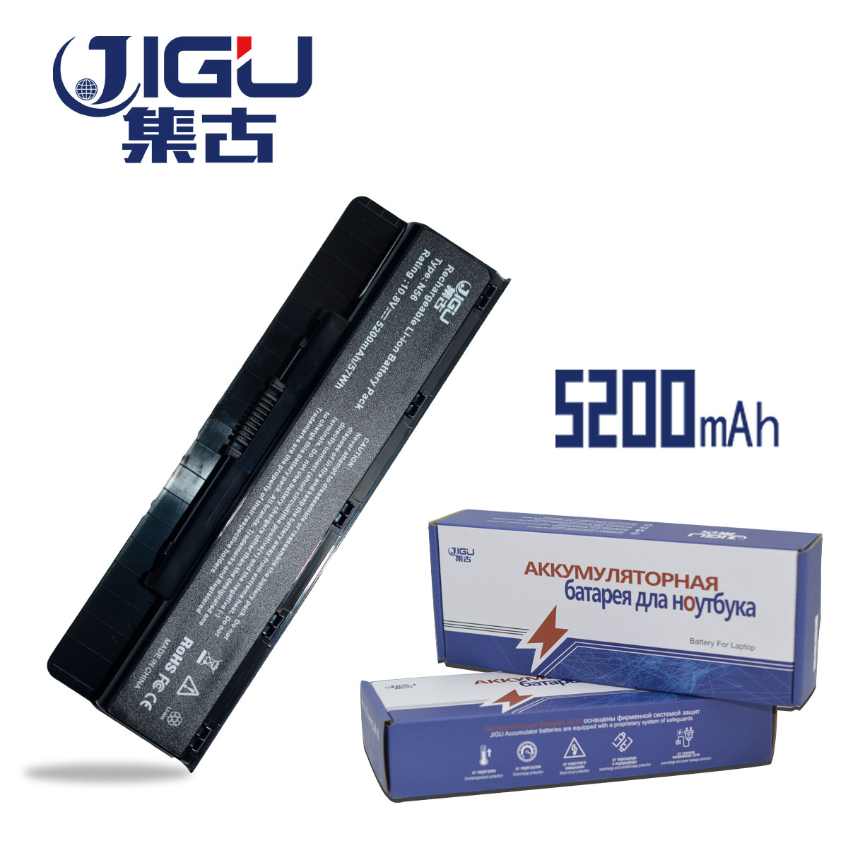 JIGU New Battery For Asus N46 N46V N46VM N46VZ N56 N56V N56VJ N56VM N56VZ A32-N56