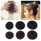 1 Pcs Hair Sponge Accessory Former Hair Styling Tools Hair Bun Maker MagicWomen Makeup Donut Ring Shaper Foam Braider Tool