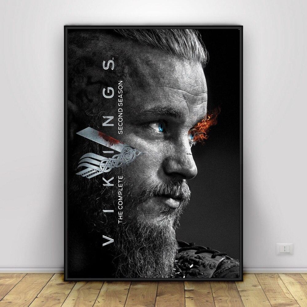Vikings Art Silk Wall Promo Poster Wohnkultur 12x18 24x36 zoll - WLOG.ME