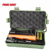 Cheapest prices 2017 NEW Super Bright XM-L T6 LED Adjustable Focus Rechargeable Flashlight Torch S98
