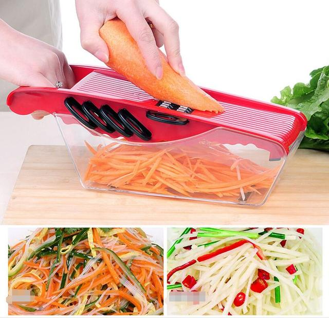 Kitchen pulling food chopper household hand manual rope processor.