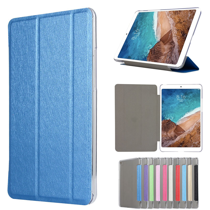 все цены на Cover Case For Xiaomi MiPad 4 Mi Pad4 Protective PU Leather Smart case For XIAOMI Mi Pad 4 MiPad4 8.0 inch Tablet PC Case covers онлайн