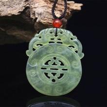 XIUYU טבעי אבן תליון PIXIU מגולף חלול החוצה ושלום אבזם חבל חופשי תכשיטי שרשרת של נשים