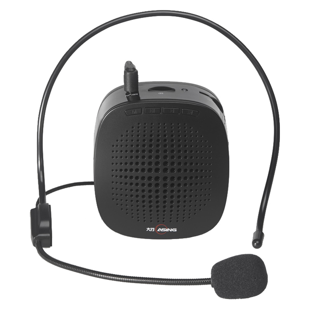 Mini Portable Voice Portable Speaker Amplifier with Microphone/Battery/cable/waistband for Touring Guide/Teaching/Public Speech