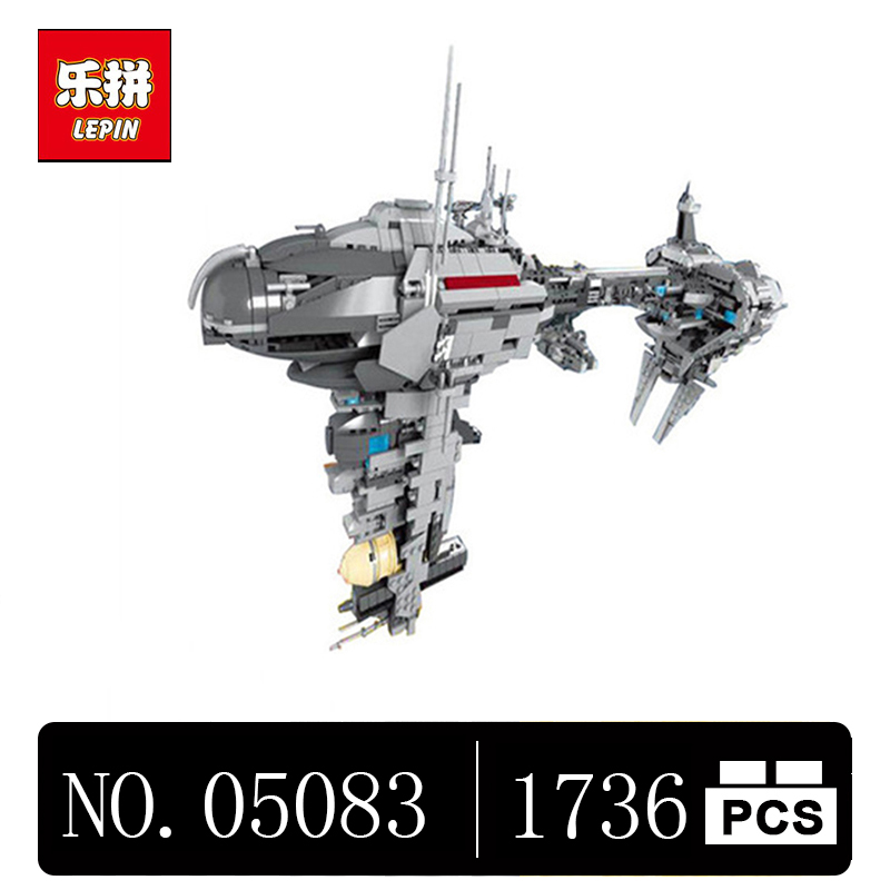 DHL LEPIN 05083 1736Pcs Star Cool toy Wars Dental warships Educational Building Blocks Bricks Toys Model Gift to children 2017 neue lepin 05083 star cool spielzeug wars dental kriegsschiffe 1736 stucke educational building blocks bricks spielzeug mod