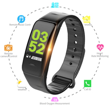 2PCS Smart Bracelet Color Screen Fitness Tracker Blood Pressure Heart Rate Monitor Waterproof Sport Smart Band for Android IOS 2018 p3 smart wristband bracelet color screen blood pressure fitness tracker heart rate monitor smart band sport for android ios