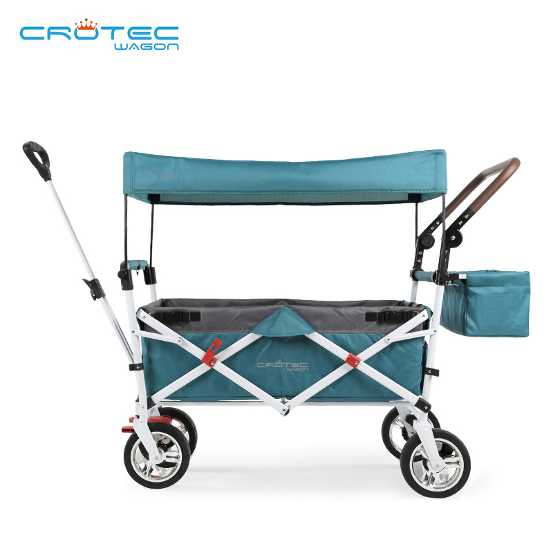 Crotec Wagon 3 In1 Twin Trolley Mutiple  Outdoor Stroller Picnic Shopping Cart  Multi Travel L Trailer Trike Cochesitos De Bebe