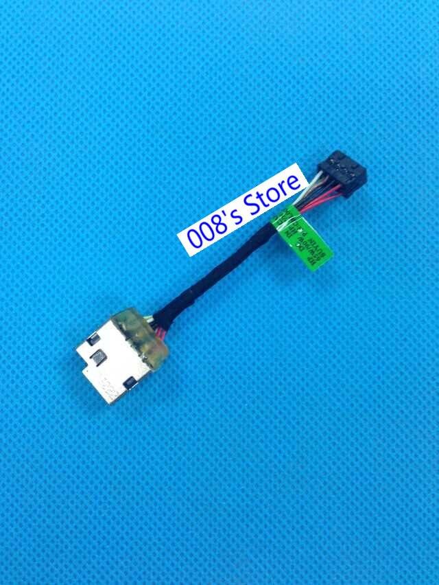 New DC Power Jack For HP Pavilion 10-E 15-N 15-P 14-N 15-F 14-F 14-V 14-U ENVY 15-K 15-N000 17-F Charging Socket Harness Cable