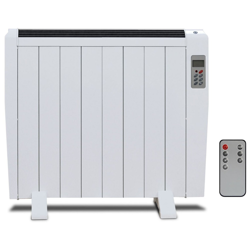 Electric Panel Heater Radiator with Multi-function Remote Control Wall Mounted or Freestanding цены