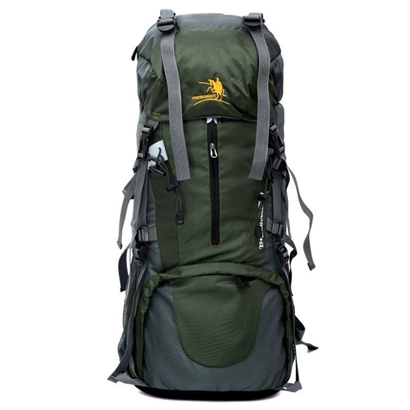 70L imperméable à l'eau femmes et hommes voyage sac à dos en plein air Camping Mochilas escalade randonnée sac à dos sac à dos Sport