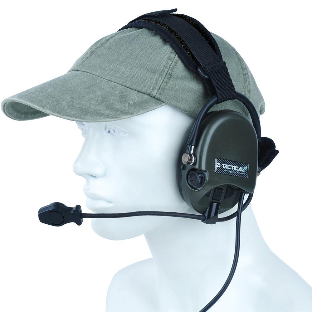 34d677b78c4 Z Tactical Softair Pilot Headset Comtac TCI Liberator II Neckband Sordin  Thoradin Pickup Noise Canceling Hunting