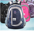 Boys and girls in grades 1-3-6 schoolbag