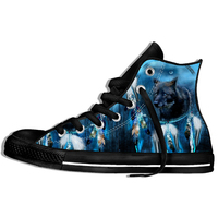 2019 New Fashion Brand Wolf Flame Sneakers Sexy Men/women Cool Anime High Quality Lightweight Casual Shoes
