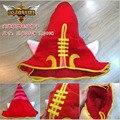 Nueva Moda Superventas LOL Lulu la Fae Hechicera Sombreros Precioso Rojo Cosplay Mejor regalo de Cumpleaños y Regalo de Navidad Envío Gratis