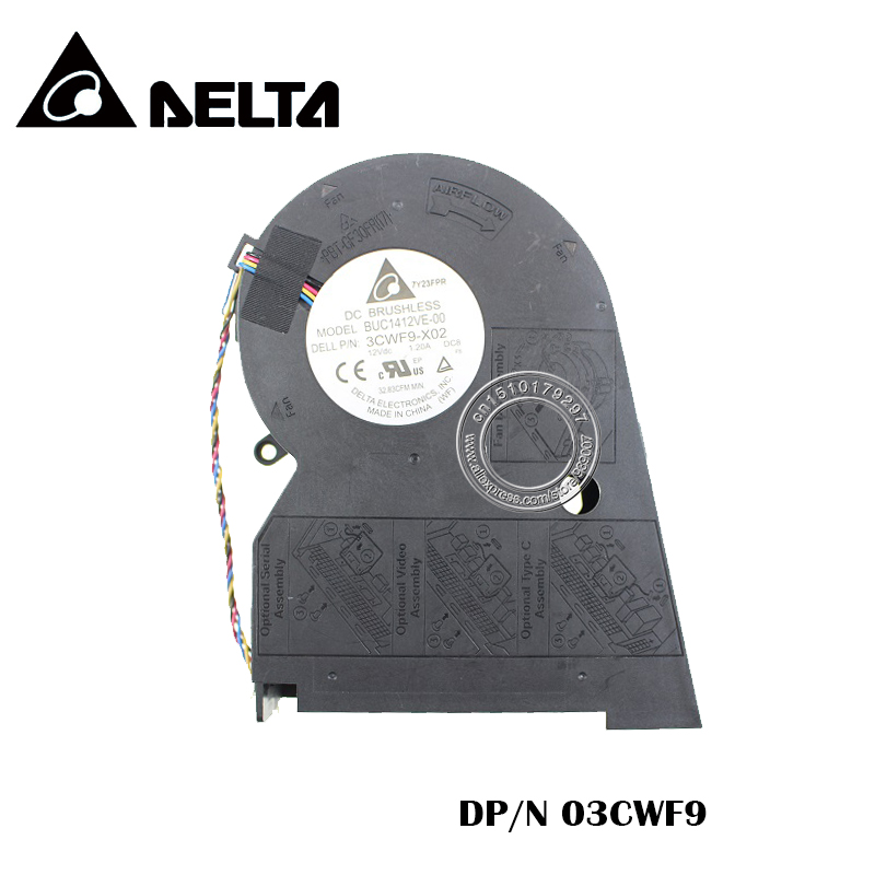 NEW COOLING FAN FOR DELL P/N:3CWF9-X02 03CWF9 BUC1412VE-00 12VDC 1.20A DC8NEW COOLING FAN FOR DELL P/N:3CWF9-X02 03CWF9 BUC1412VE-00 12VDC 1.20A DC8