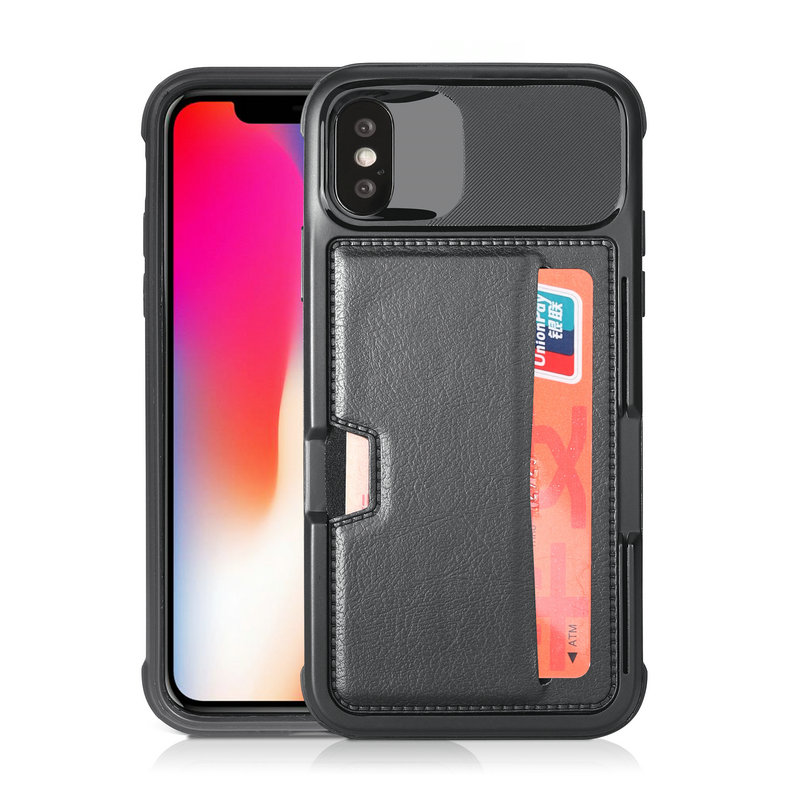 PU leather for Apple iPhone X Case Coque iPhone 7Plus cover Hybrid Armor Card Slot for iPhone 6 6s 7 8 Plus iPhonex iPhone8 Case