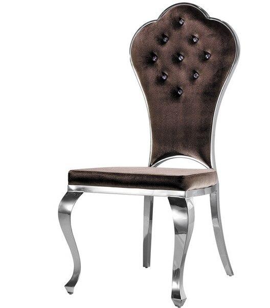 Chaises De Salle à Manger Chaise à Dossier Haut Chaises De Restaurant  Cadeira Fauteuil Pouf Tissu