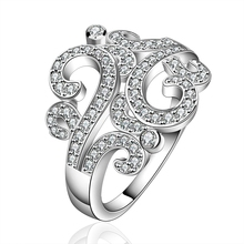 hot deal buy 925 silver ring with natural stone wedding rings engagement ring lord of the rings 925 silver rings vintage diamond jewelry r613