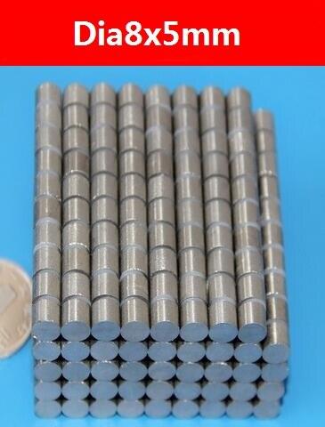 10 Pc/pc, Dia8x5mm Smco Seltene Earther Magnet, Vollständige Verkäufe Marke Hohen Arbeitstemperatur Magneten, Freies Verschiffen Bequem Und Einfach Zu Tragen