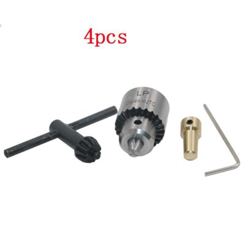 Mini Electric Hand Drill DC 12 Voltage Motor PCB Press Drilling Compact Set 0.5-3mm Twist Bits 0.3-4mm JT0 Chucks Tool