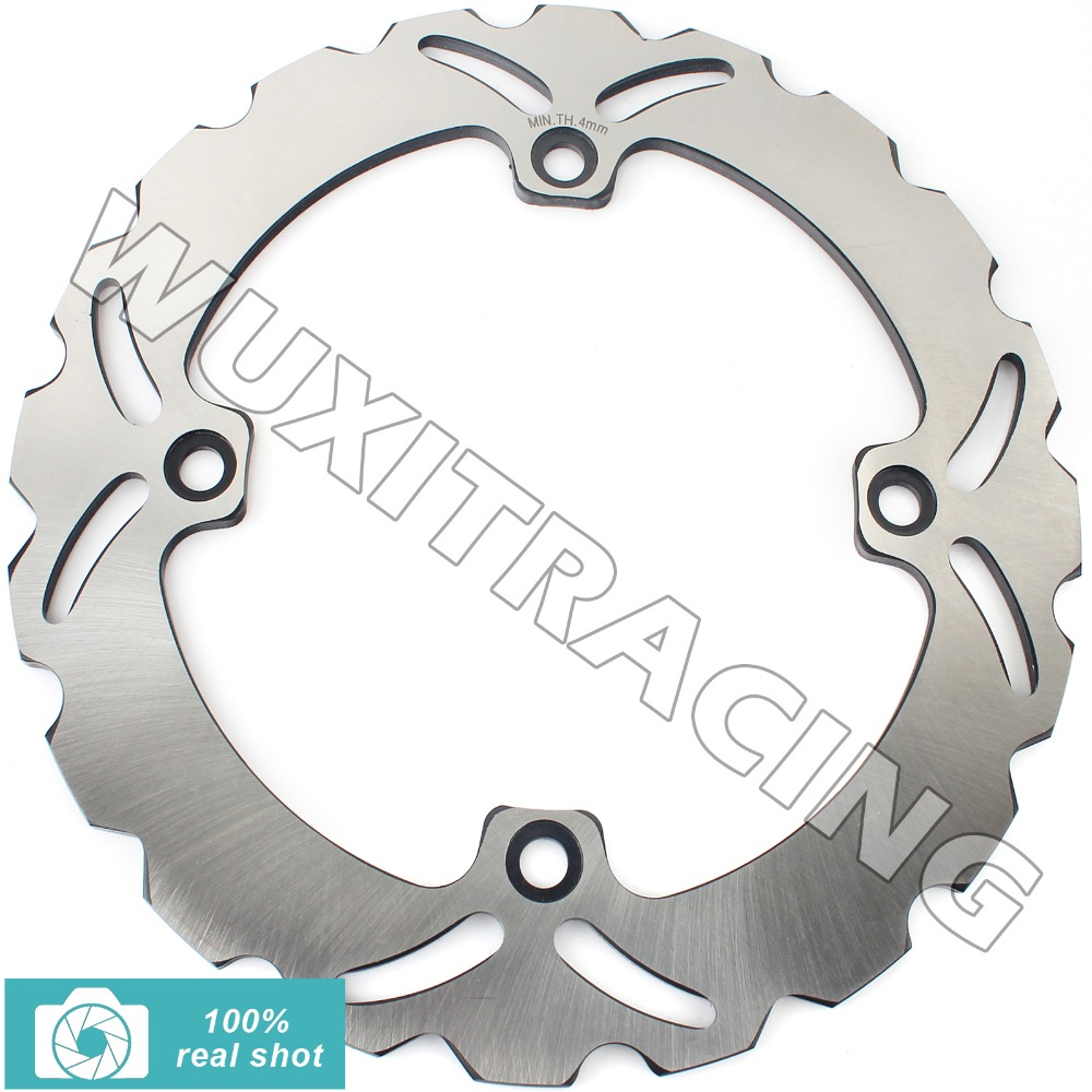 Rear Brake Disc Rotor for VF500 F 84 85 XRV R AFRICA TWIN 750 90-02 91 92 93 94 95 96 97 98 XL 1000 V Varadero 99 00 01 02 rear brake disc rotor for kawasaki kle500 91 92 93 94 95 96 97 98 99 00 01 02 03 04 05 06 07 klr650 a c kl650 tengai
