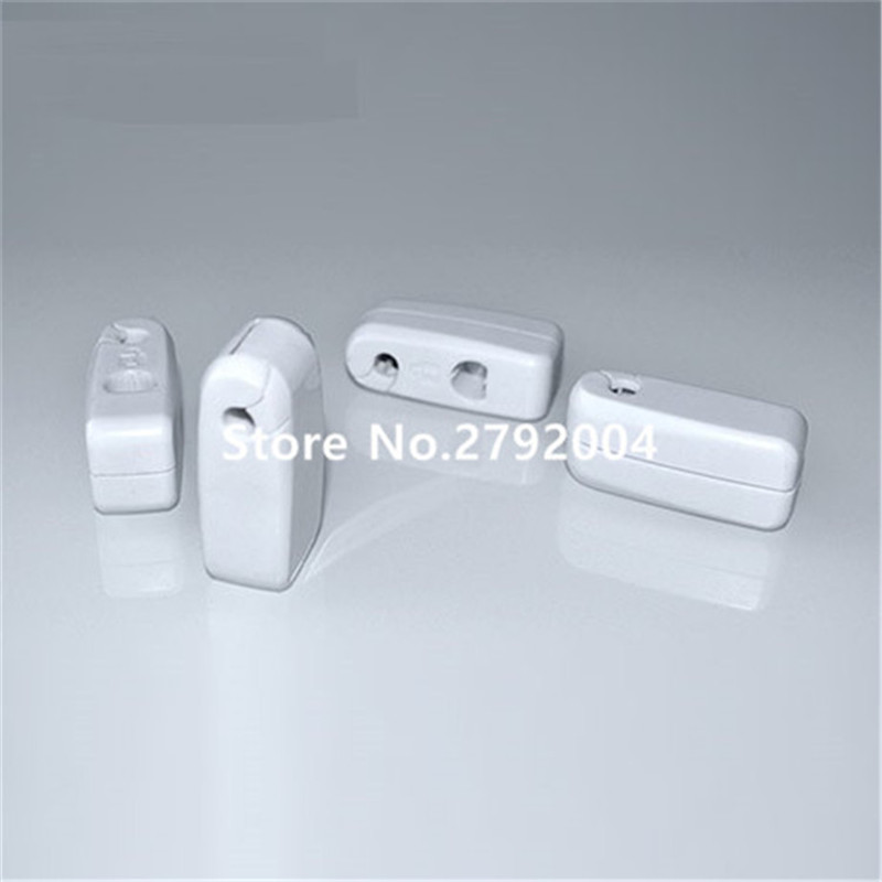 50pcs/lot EAS anti-theft stop lock for retail display security hook stem&peg stop lock+1pcs magnetic detacher keys