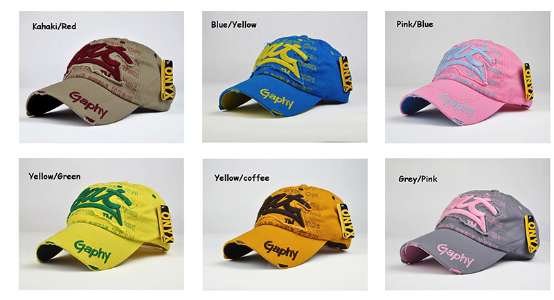 """Embroidered """"Bat"""" Baseball Cap - More Available Colors"""