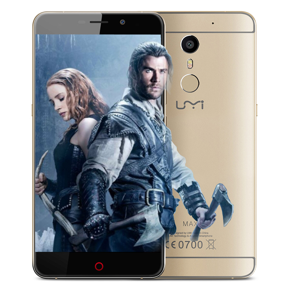 Original UMI MAX Metal Body 4G LTE 5 5 inch Helio P10 Octa Cor 3G RAM