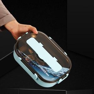 Image 5 - ONEUP 304 Ланч бокс из нержавеющей стали , новый японский стиль, Бенто бокс, кухонный герметичный контейнер для еды, для отправки посуды