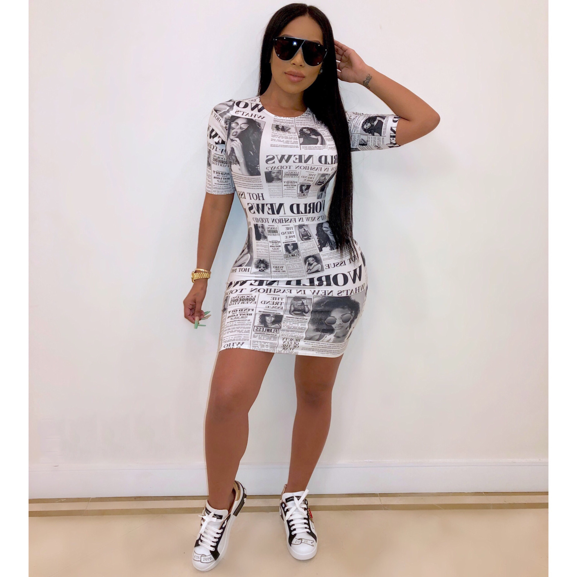 African Dresses For Women Fashionable Sexy Monogrammed African Dress